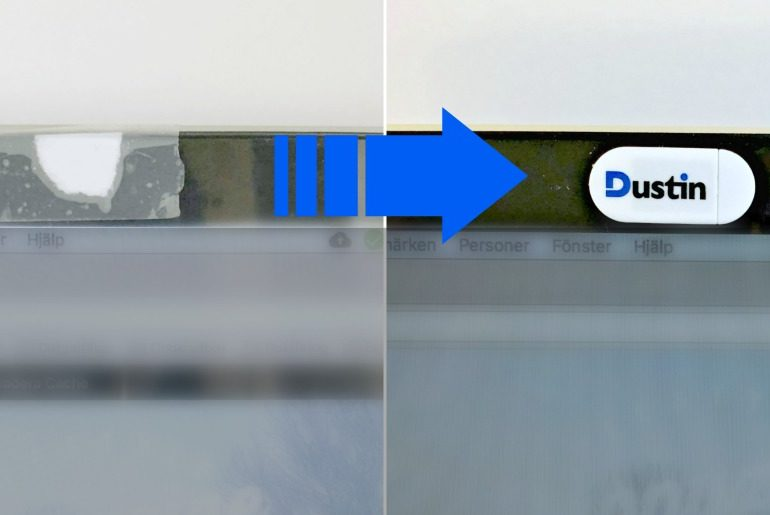 Dustin Webcam cover Header