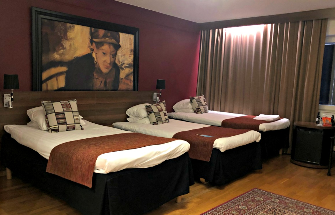 Clarion Hotel Winn Sängar
