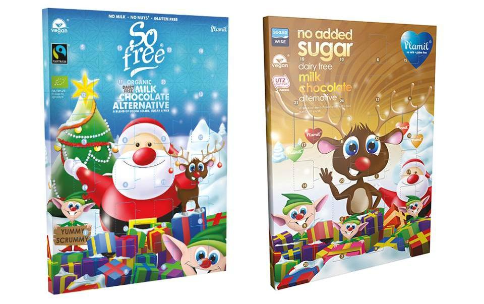 Plamil Mjölkfri chokladkalender.